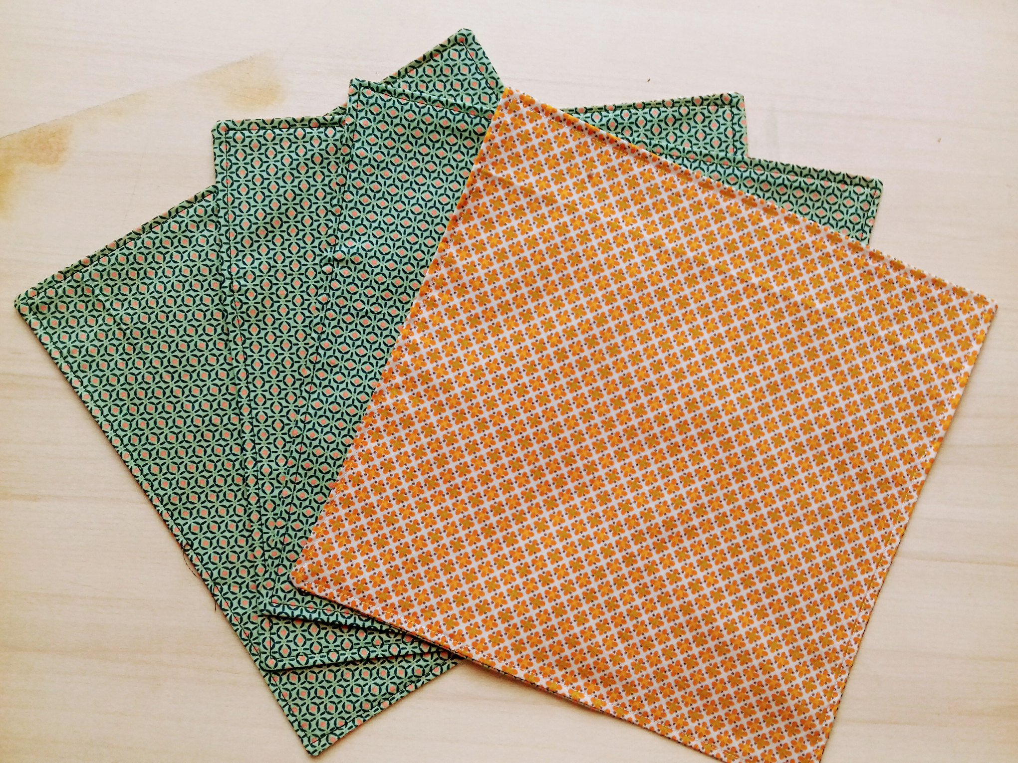 Lot de 6 serviettes de tables- 30 euros